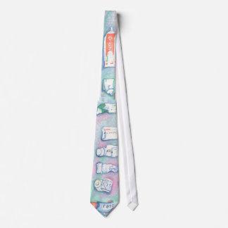 Toothpaste Tie