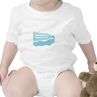 Toothpaste use daily to Keep Cavities Away Baby Bodysuit