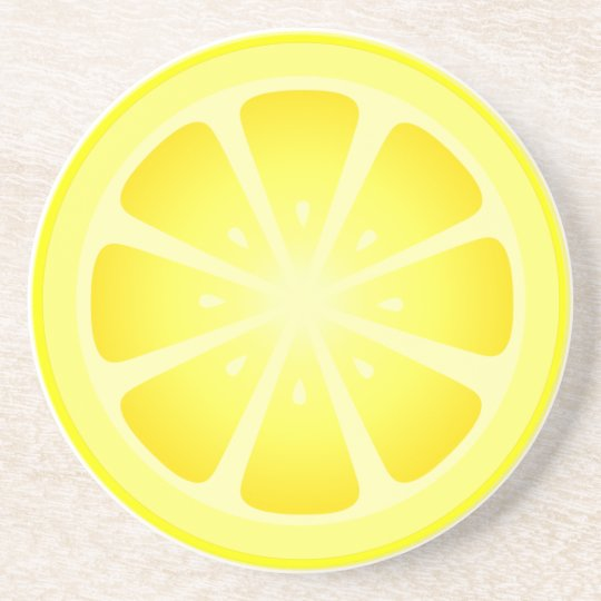 Tootie Fruity Lemon Coaster