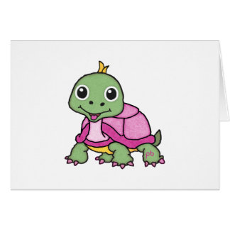 Tootsie the Turtle [Happy Pets, Smiles & Cheer] Card