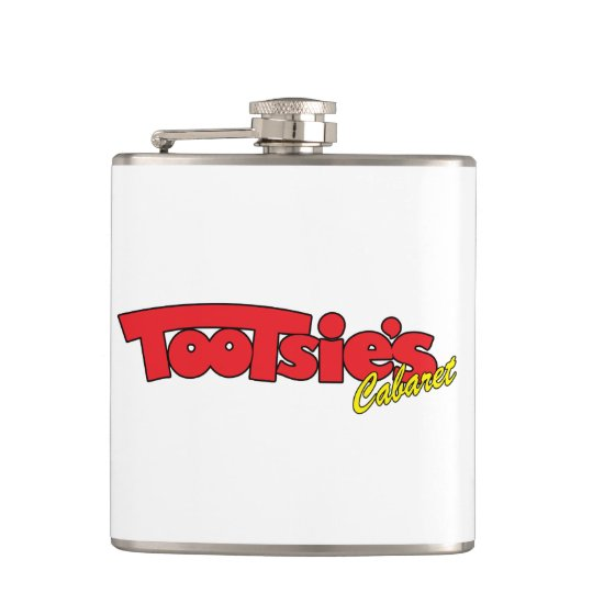 Tootsies Cabaret Stainless Steel Flask