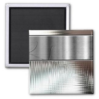 Top 10 Award! Silver Banner Magnet