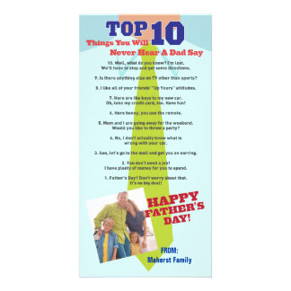 Top 10 Father s Day Photo Invitation Card Photo Card