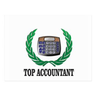 top accountant seal postcard
