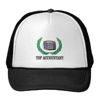 top accountant seal trucker hat