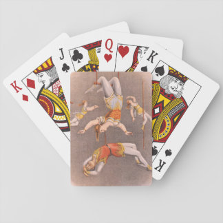 TOP Acrobat in the House Poker Deck