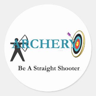 TOP Archery Classic Round Sticker