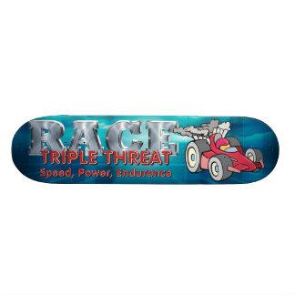 TOP Auto Race Triple Threat Skateboards
