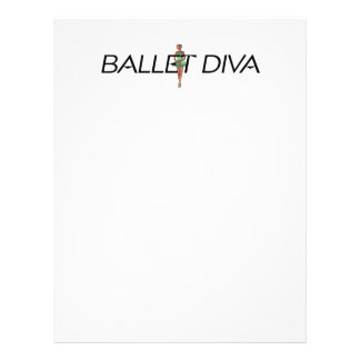 TOP Ballet Diva Flyer Design