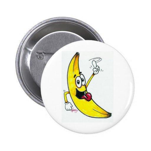 Top Banana, dancing banana cartoon Pin
