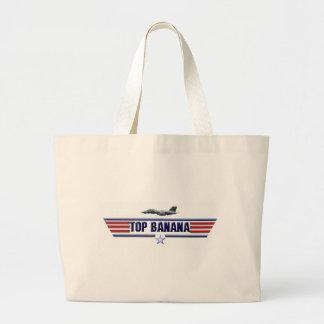 Top Banana Logo Bags