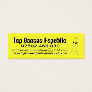 Top Banana Republic Mini Business Card