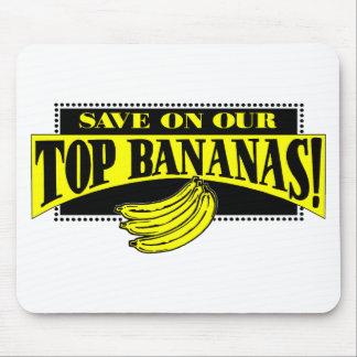 Top Bananas Mouse Pad