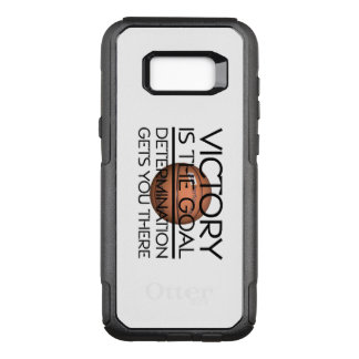 TOP Basketball Victory Slogan OtterBox Commuter Samsung Galaxy S8+ Case