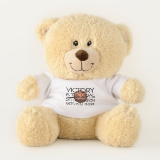 TOP Basketball Victory Slogan Teddy Bear