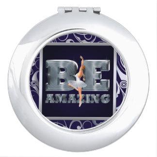 TOP Be Amazing Ballet Vanity Mirror