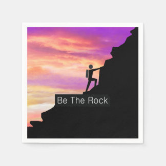 TOP Be the Rock Paper Napkins
