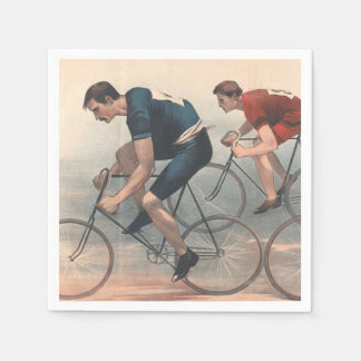 TOP Bike Race Napkin