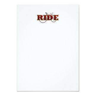 TOP Bike Ride Card
