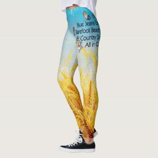 TOP Blue Jeans Girl Leggings