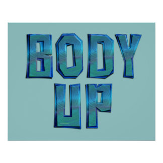 TOP Body Up Poster