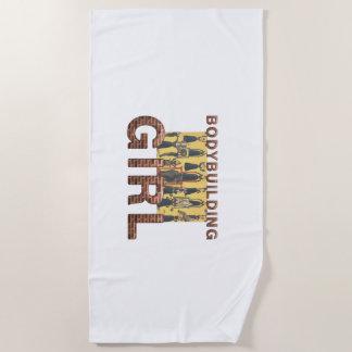 TOP Bodybuilding Girl Beach Towel