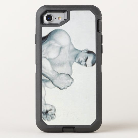 TOP Boxing Old School OtterBox Defender iPhone 8/7 Case