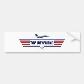 Top Boyfriend Logo Bumper Sticker
