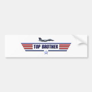 Top Brother Logo Bumper Sticker