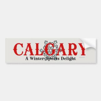 TOP Calgary Winter Bumper Sticker
