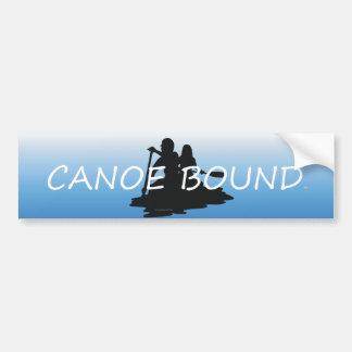 TOP Canoe Bound Bumper Sticker