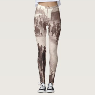 TOP Car Race Old School Leggings