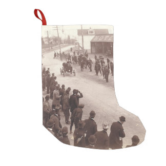 TOP Car Race Old School Small Christmas Stocking