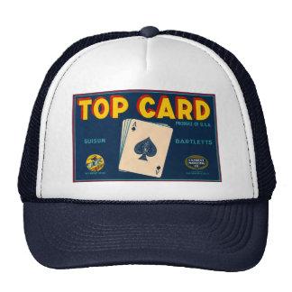 Top Card Trucker Hat