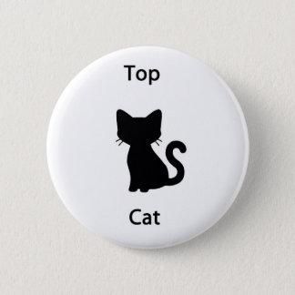 Top cat 2 inch round button