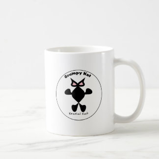Top Cat, Cool Cat, Grumpy Kat Kranial Kat, Classic White Coffee Mug