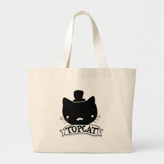 Top Cat Large Tote Bag