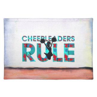 TOP Cheerleaders Rule Placemat