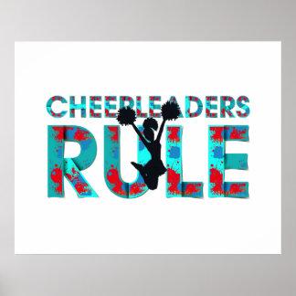 TOP Cheerleaders Rule Poster