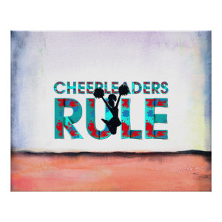TOP Cheerleaders Rule Poster