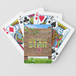 TOP Cheerleading Star Bicycle Playing Cards