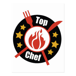 Top Chef Postcard