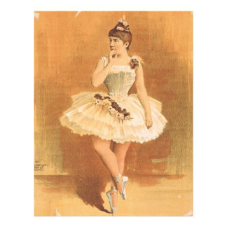 TOP Classic Ballerina Full Color Flyer