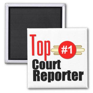 Top Court Reporter Fridge Magnet