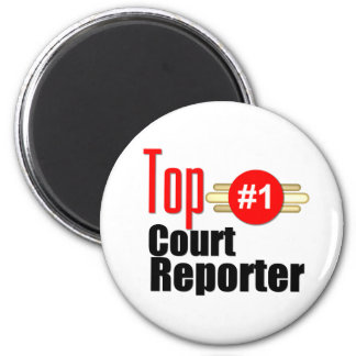Top Court Reporter Refrigerator Magnets