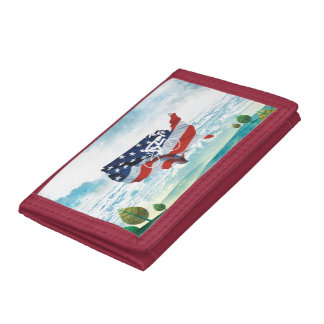 TOP Cycling in the USA Tri-fold Wallets