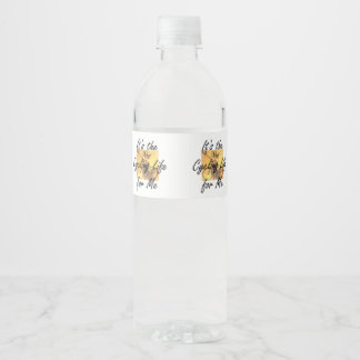 TOP Cycling Life Water Bottle Label