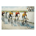 TOP Cycling Old School Large Business Card