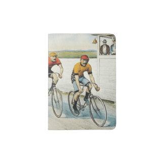 TOP Cycling Old School Passport Holder