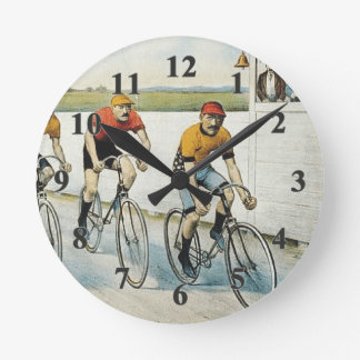 TOP Cycling Old School Round Clock